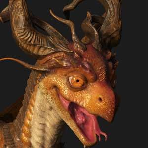Substance Painter 2021 dragon