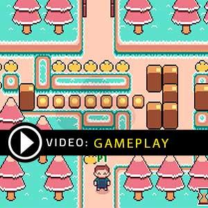 Super Box Land Demake Gameplay Video