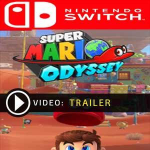 Super Mario Odyssey trailer video