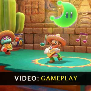 Super Mario Odyssey gameplay video