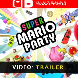 Super Mario Party Nintendo Switch Trailer Video