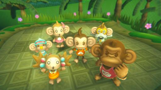 all Super Monkey Ball Banana Mania characters