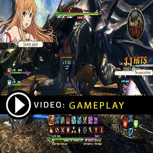 Sword Art Online Hollow Realization Gameplay Video