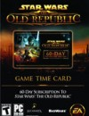 Buy Gamecard Star Wars The Old Republic 60 Days Prepaid Time Card price best deal