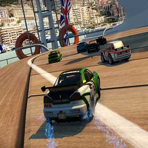 Crushing enemies in Table Top Racing World Tour