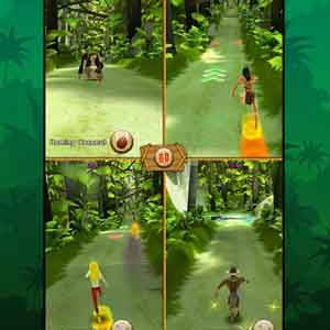 Tarzan Unleashed - Multiplayer Screen
