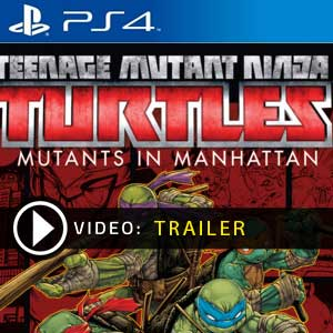 Teenage Mutant Ninja Turtles Mutants in Manhattan PS4 Prices Digital or Physical Edition