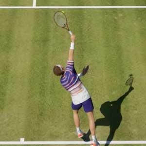 Tennis World Tour 2 grass court