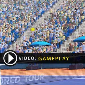 Tennis World Tour Gameplay Video
