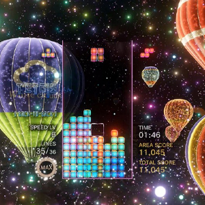 Tetris Effect Connected Hot Air Balloon