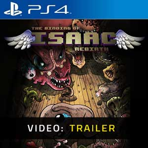 The Binding of Isaac Rebirth PS4 Trailer Video