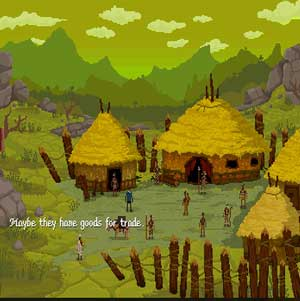Native Village in The Curious Expedition