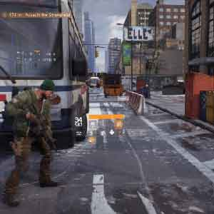 The Division battle Field
