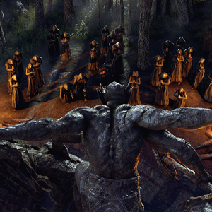 The Elder Scrolls Online Blackwood - Mehrunes Dagon Worshippers