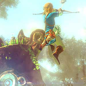 The Legend of Zelda Breath of the Wild - Guardian Stalker