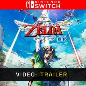 The Legend of Zelda Skyward Sword HD Nintendo Switch Video Trailer