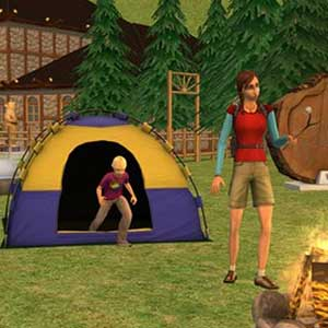 The Sims 2 Bon Voyage Expansion Pack Camping