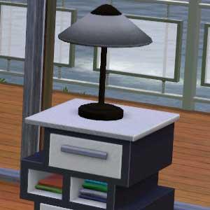 The Sims 3 High End Loft Stuff Sleek Bedroom