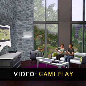 The Sims 3 High End Loft Stuff Gameplay Video