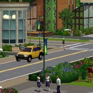 The Sims 3 Town Life Stuff Town