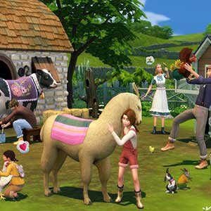 The Sims 4 Cottage Living - Steed