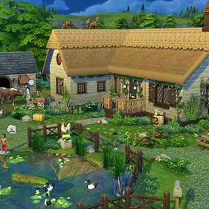 The Sims 4 Cottage Living - House