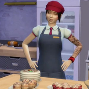 The Sims 4 Get to Work Kitchen
