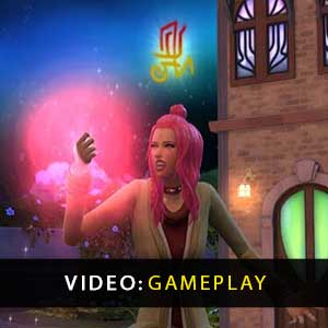 The Sims 4 Realm of Magic Gameplay Video