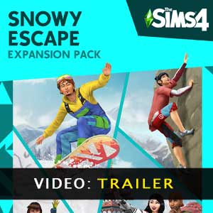 The Sims 4 Snowy Escape Expansion Pack Video Trailer