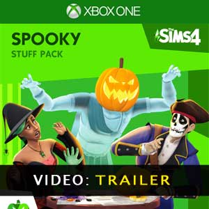 The Sims 4 Spooky Stuff Trailer Video