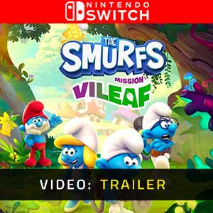The Smurfs Mission Vileaf Nintendo Switch Video Trailer