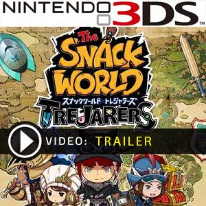 The Snack World Trejarers Nintendo 3DS Prices Digital or Box Edition