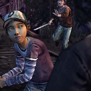 The Walking Dead 2: Kill the Zombie from Behind