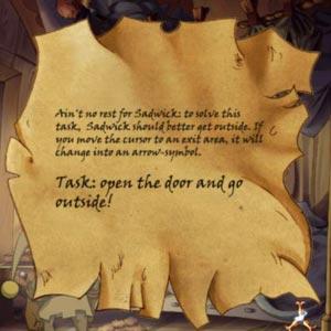 The Whispered World - Task