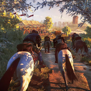 The Witcher 3 Wild Hunt Horse
