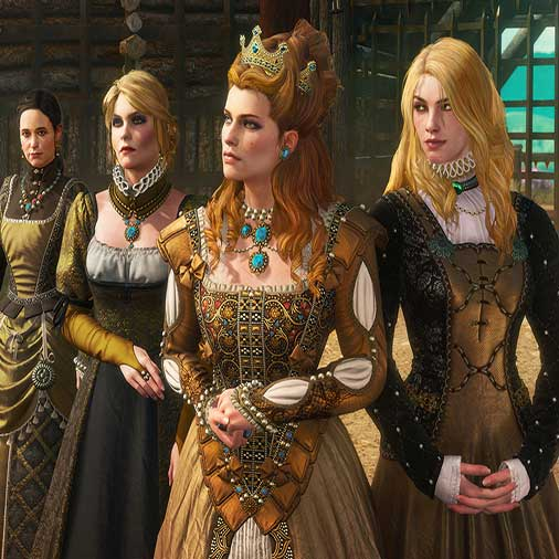 The Witcher 3 Wild Hunt Blood and Wine - Characters