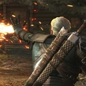 The Witcher 3 Wild Hunt Hearts of Stone PS4 Fight