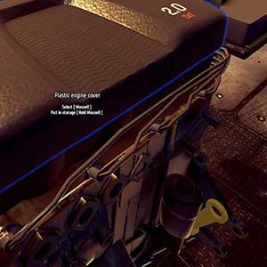 Thief Simulator Engine Cover