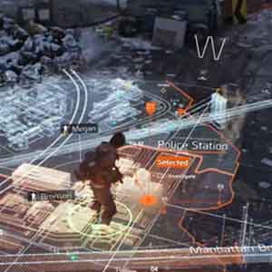 The Division Gameplay Map