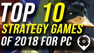 2018's Top 10 PC Strategy Games