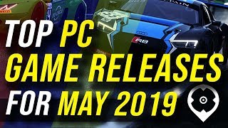 May 2019 Top PC Game Releases