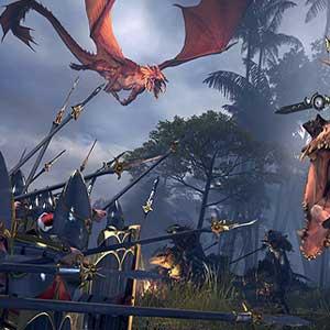 Total War Warhammer 2 Dragon