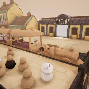 Tracks Train Set Game - Gameplay Image