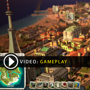 Tropico 5 PS4 Online Multiplayer Gameplay Video