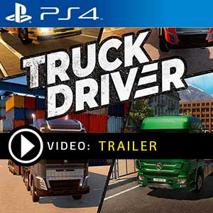 Truck Driver PS4 Prices Digital or Box Edition