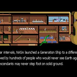 NASA launced a Generation Ship