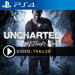 Uncharted 4 : A Thief's End PS4 Prices Digital or Physical Edition