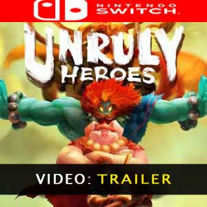 Unruly Heroes Nintendo Switch Video Trailer