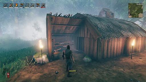 Valheim Shelter