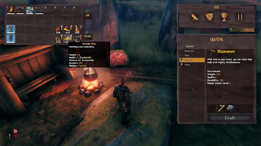 valheim cooking hearth and home update